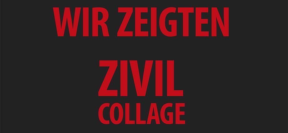 """""""Zivilcollage"""" Online"""