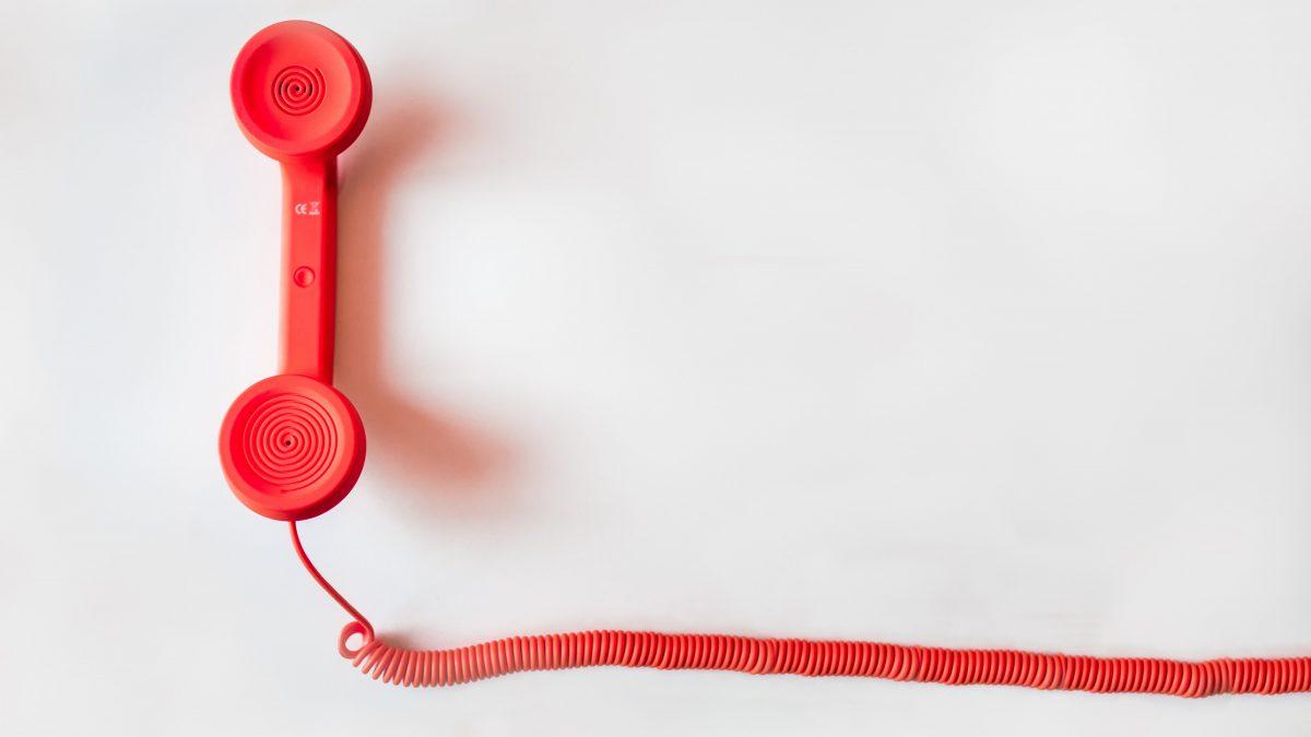 Literarische Mittagspause per Telefon