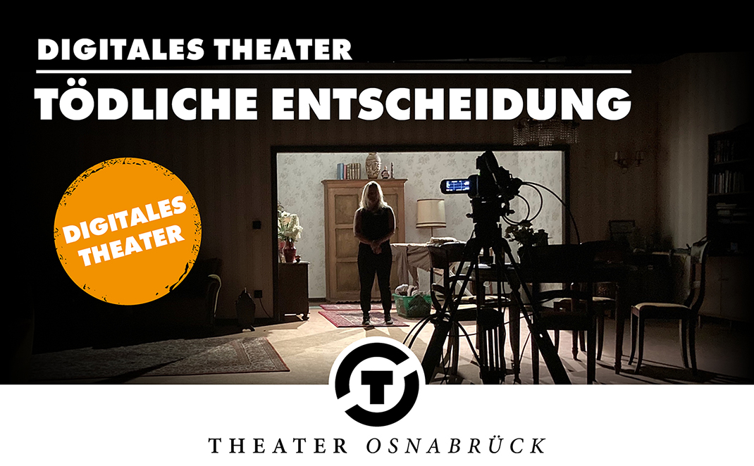 Interaktiver Krimi des Theaters als Video on demand